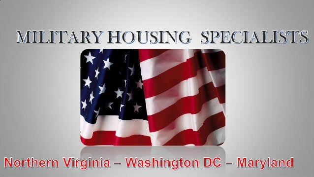 Virginia Military Housing and Real Estate for  Fort Belvoir Relocation Services