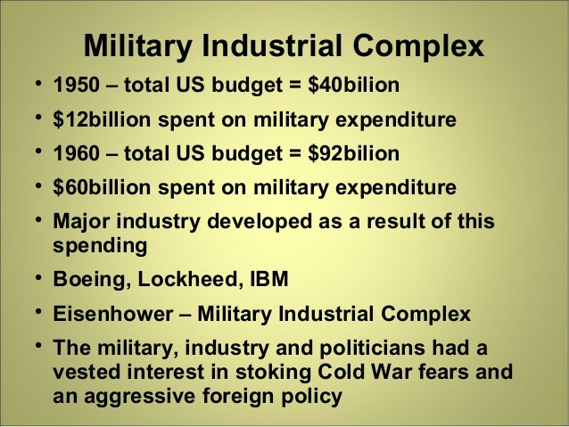 a look at the origins of military industrial complex The war state: the cold war origins of the military-industrial complex and the power elite, 1945-1963 [michael swanson]  you can also see more kindle matchbook titles here or look up all of your kindle matchbook titles here read the.