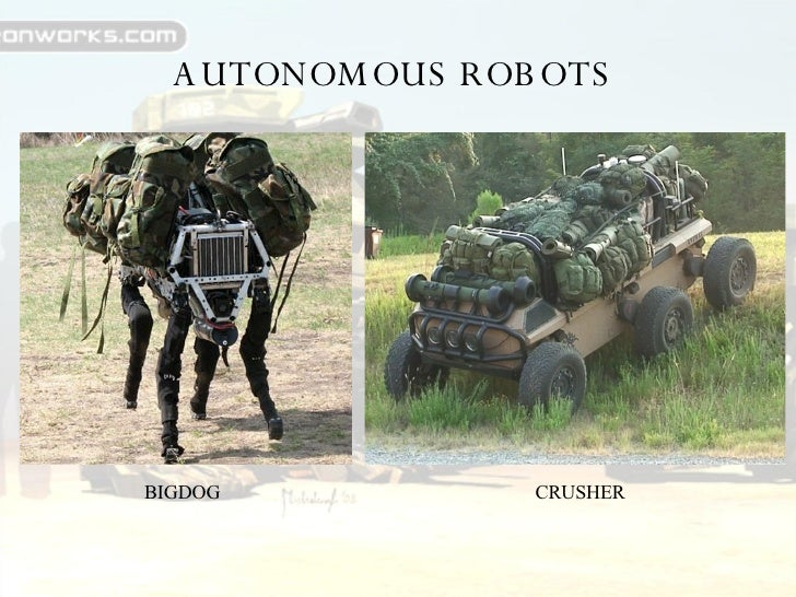 artificial intelligence in military applications ppt