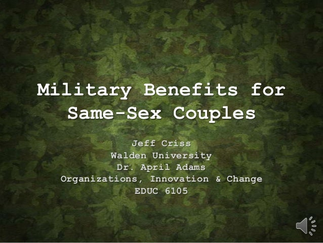 how same sex marriage affects benefits
