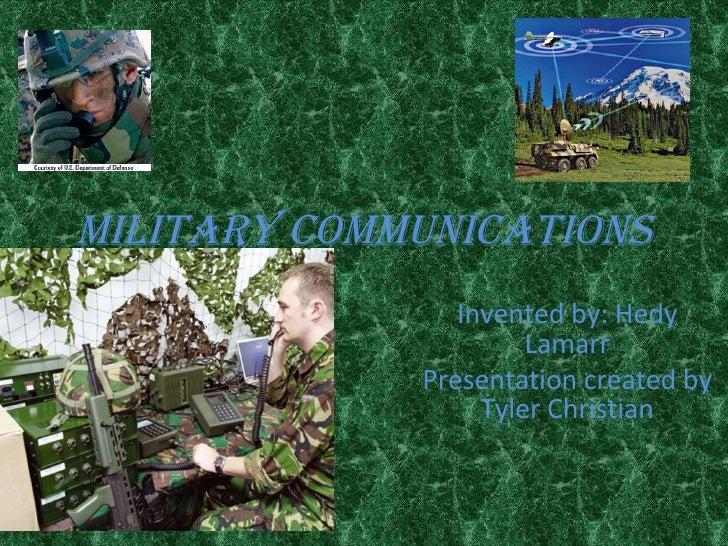 Army radio communication powerpoint presentation