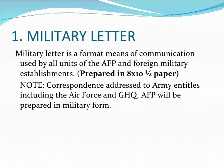 military letters format mersn proforum co