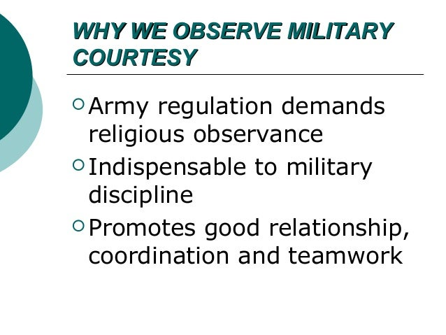 Article 92 - Good Order and Military Discipline