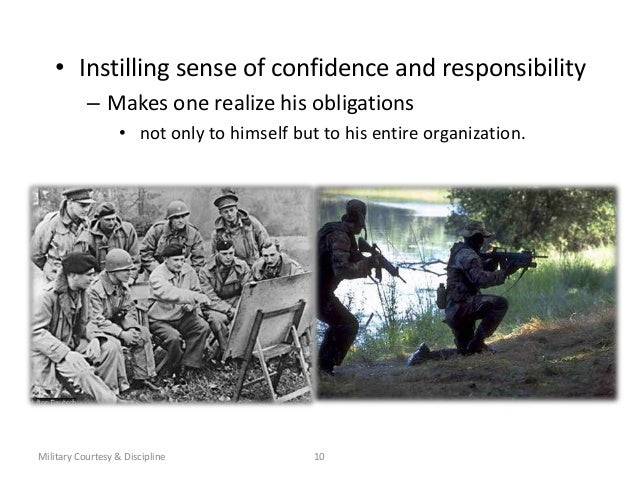 standards and discipline in the military