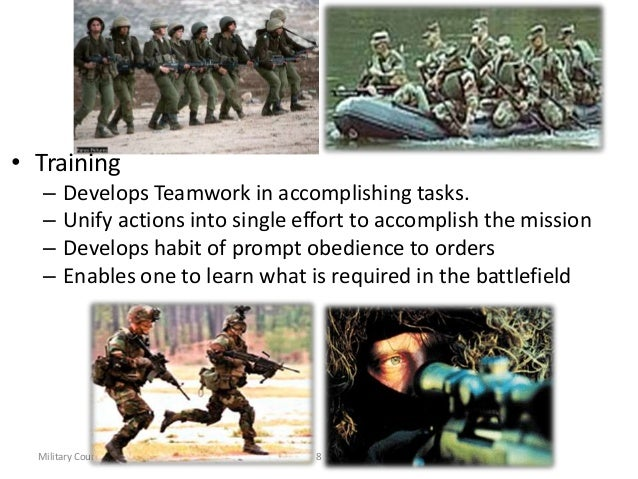 definition of military discipline Chapter 1 of the military justice at the summary trial level manual summarizes the definition of military law and its role in the canadian military justice system.