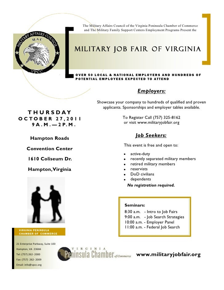 The Military Affairs Council of the Virginia Peninsula Chamber of Commerce                                      and The Mi...
