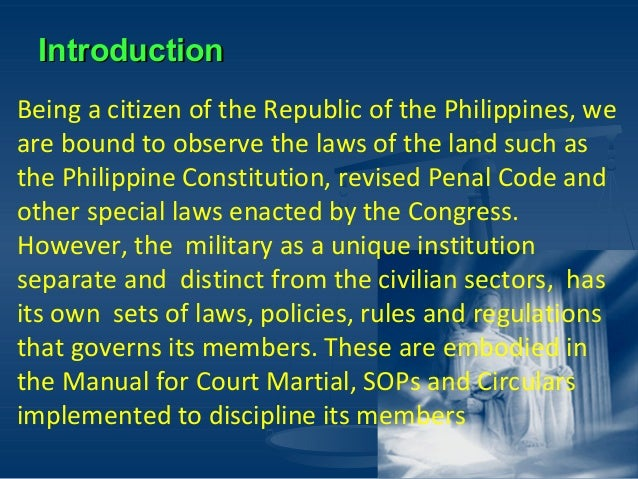 MANUAL FOR COURTS-MARTIAL UNITED STATES