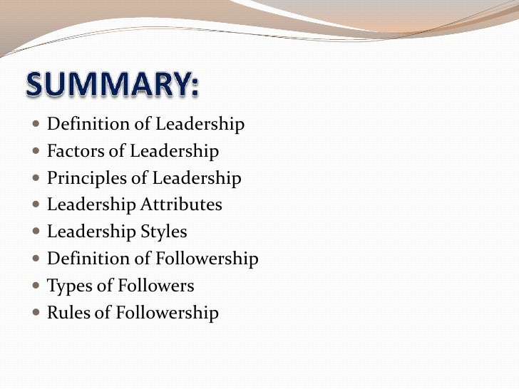 "essay on what leadership is 06102018 leadership is a difficult word to define and according to the miriam-webster dictionary leadership is the ""office or position of a leader"" (miriam."
