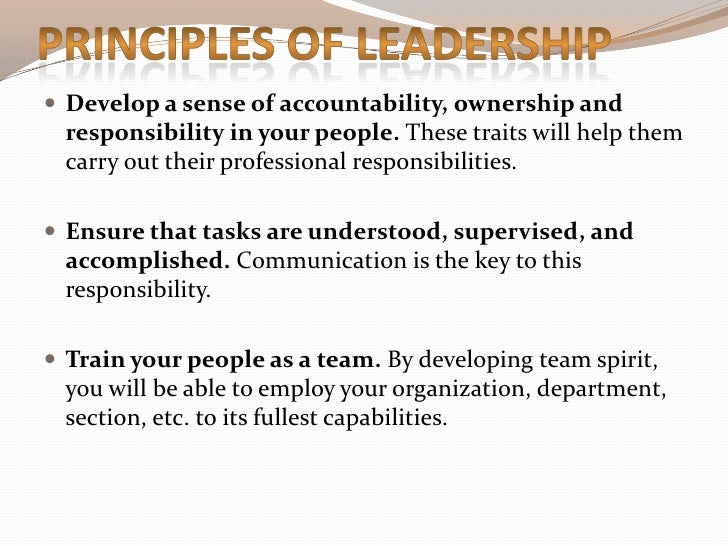 buy online: Leadership Traits And Principles