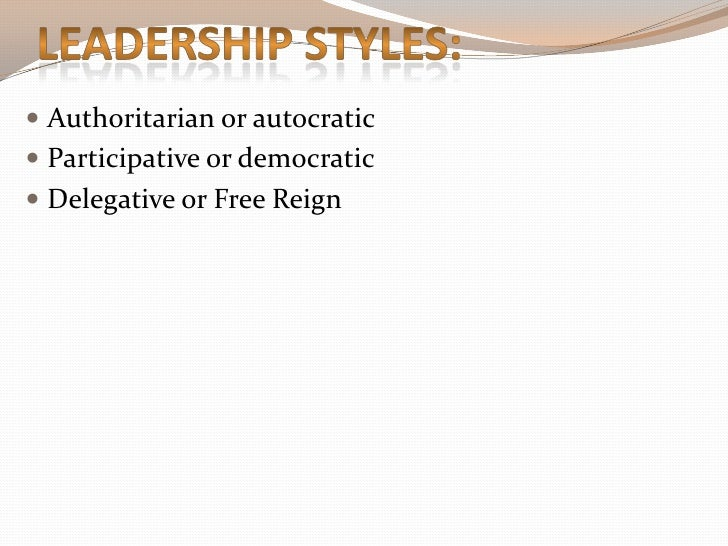 military leadership 9