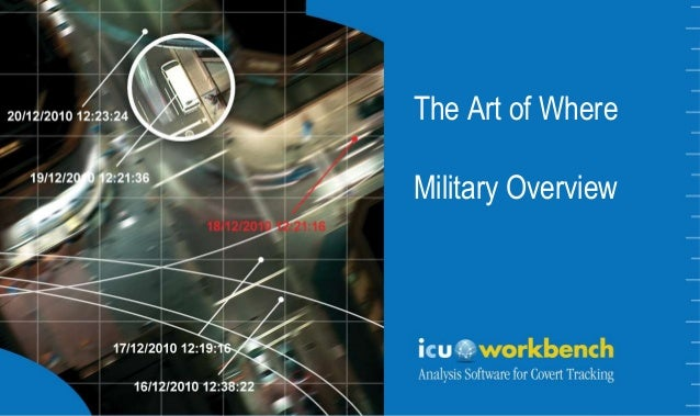 The Art of WhereThe Art of WhereMilitary Overview