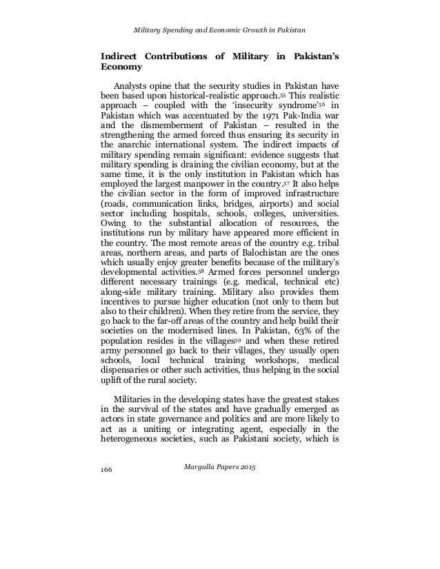 Military spending essays