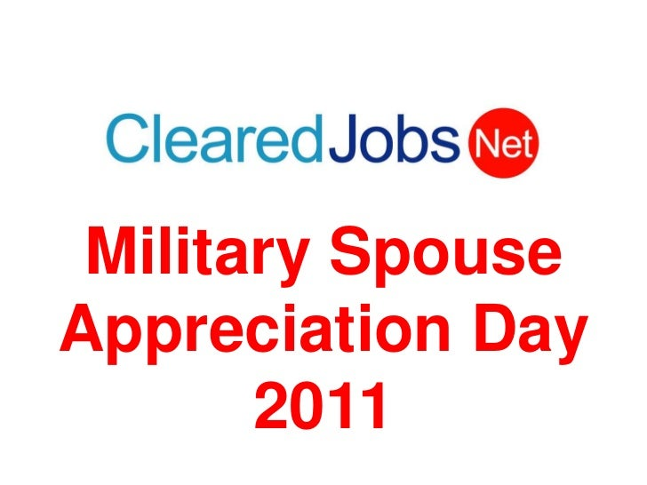 Military Spouse Appreciation Day2011<br />