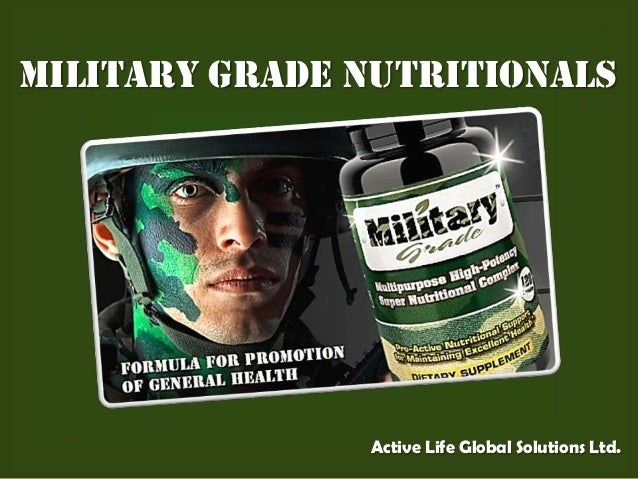 Military Grade NutritionalsActive Life Global Solutions Ltd.