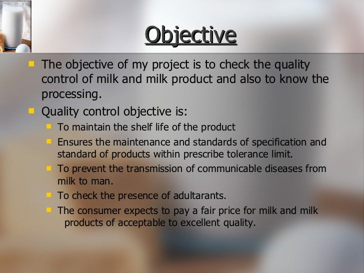 dairy project analysis Project report mother dairy swot analysis of mother dairy & others research based marketing project duration of project.