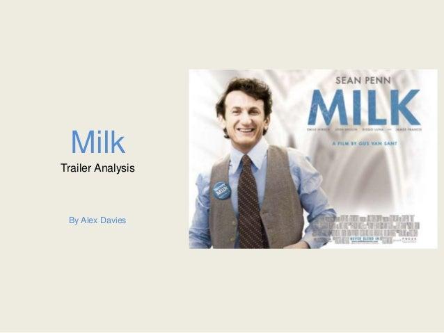 Milk Trailer Analysis By Alex Davies