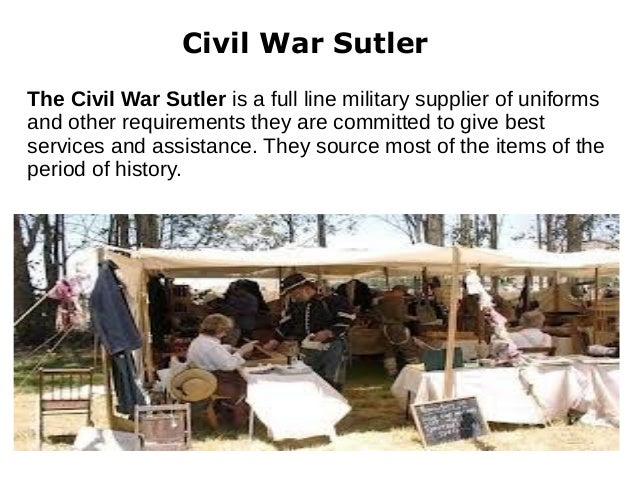 Civil War Reenactment Supplies