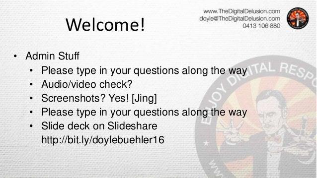 How To Develop Your Blog & Content Plan - Milkit Blogging Webinar by Doyle Buehler 2015 07 Slide 3