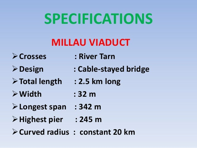 Millau viaduct for Project planning quotes