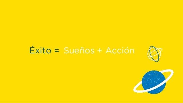 Éxito = Sueños + Acción