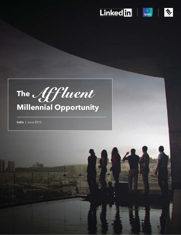The Millennial Opportunity India | June 2015