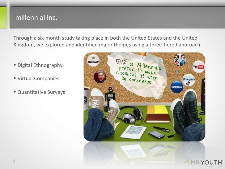 millennial inc. <br />Through a six-month study taking place in both the United States and the United Kingdom, we explored...