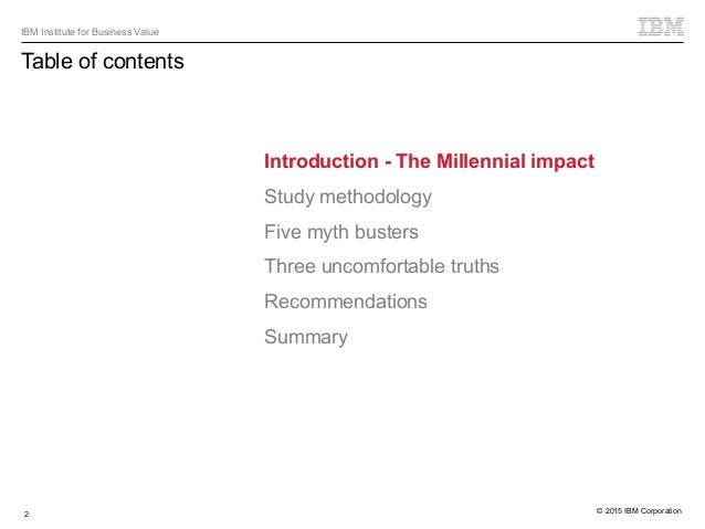 Millennial myths, exaggerations and uncomfortable truths - The real story behind Millennials in the workplace Slide 2