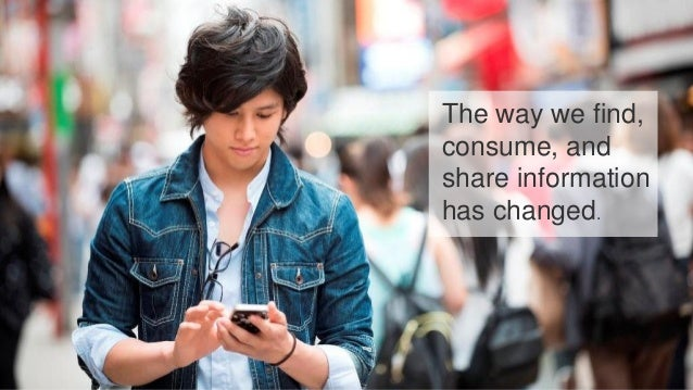 © 2015 Nuance Communications, Inc. All rights reserved. 21 The way we find, consume, and share information has changed.