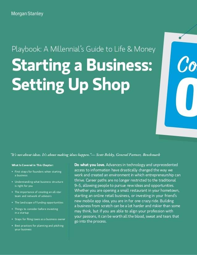 Morgan Stanley: Millennial Playbook to Life & Money