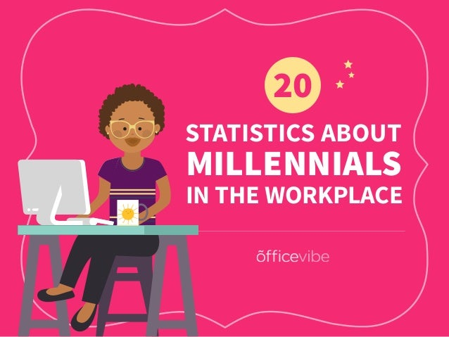 STATISTICS ABOUT 20 MILLENNIALS IN THE WORKPLACE