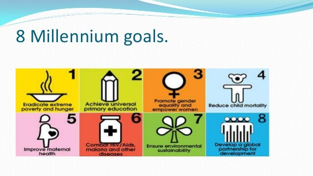 Millennium development goals final
