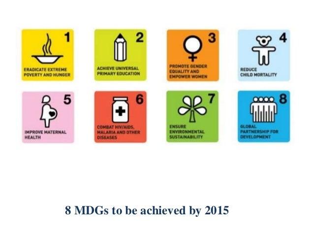 Millennium development goals for 2015 in pakistan