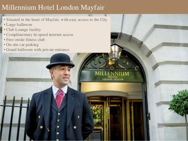 Millennium Hotel London Mayfair Parking