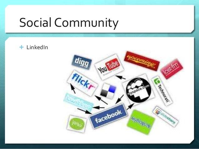 Social Community   LinkedIn