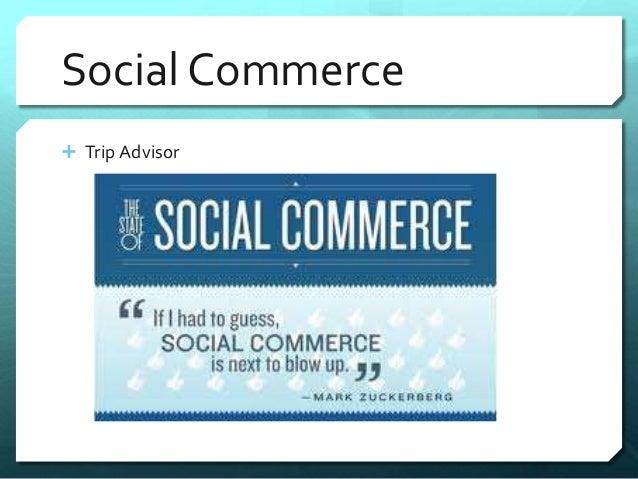 Social Commerce   Trip Advisor