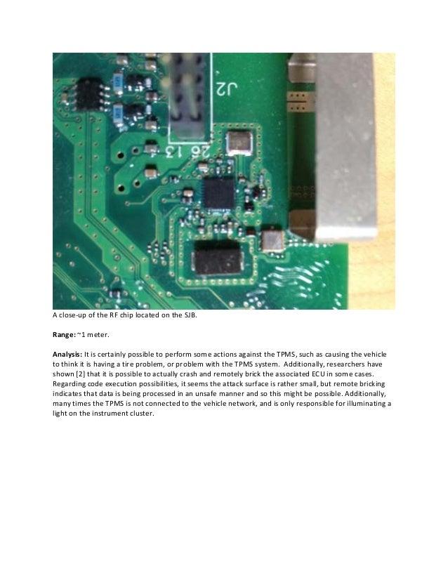 A Survey of Remote Automotive Attack Surfaces - Miller & Valasek