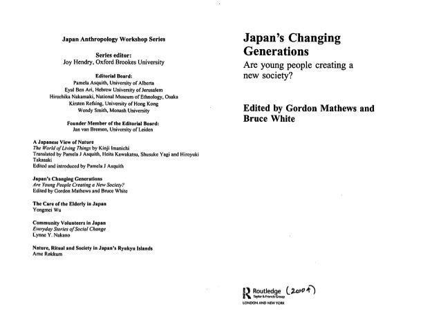 Nature, Ritual, and Society in Japans Ryukyu Islands (Japan Anthropology Workshop Series)