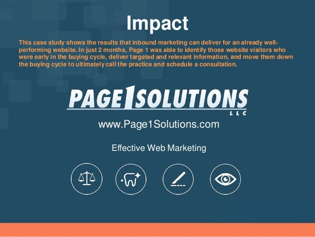 internet marketing case studies This is a case study analysis of seo performance for peer1com's website over the duration of their partnership with pear analytics.
