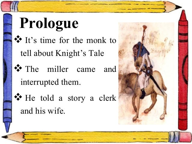 An Analysis of Chaucer's The Miller's Tale