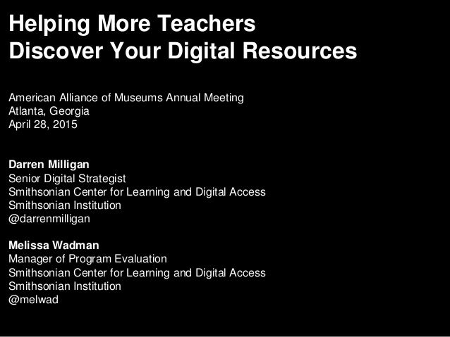 Helping More Teachers Discover Your Digital Resources