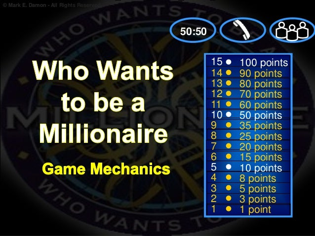 Powerpoint template who wants to be a millionaire image for Who want to be a millionaire game template