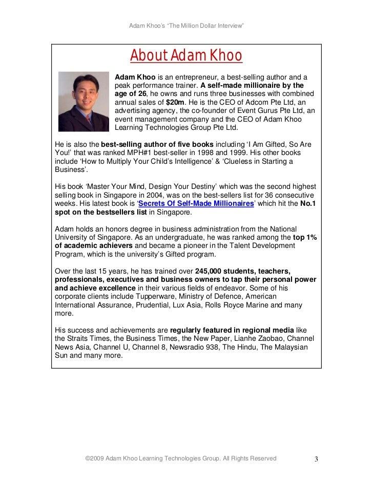 secrets of self made millionaires pdf