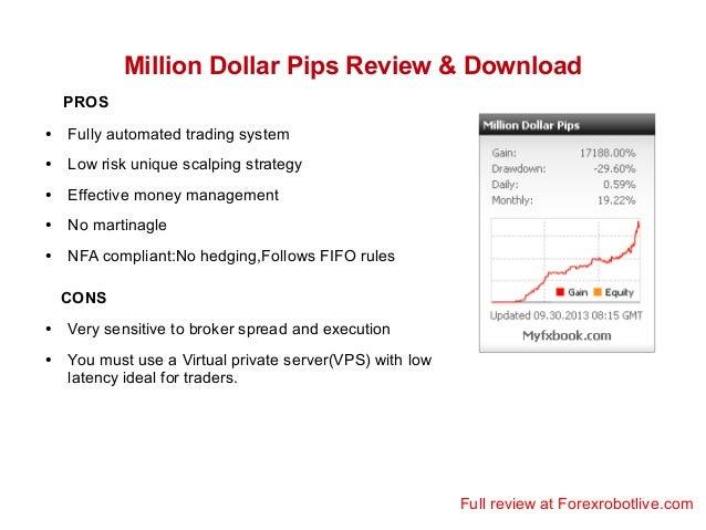 Million dollar pips robot free download