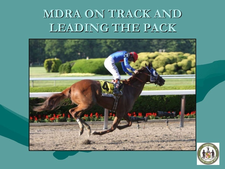 MDRA ON TRACK AND LEADING THE PACK