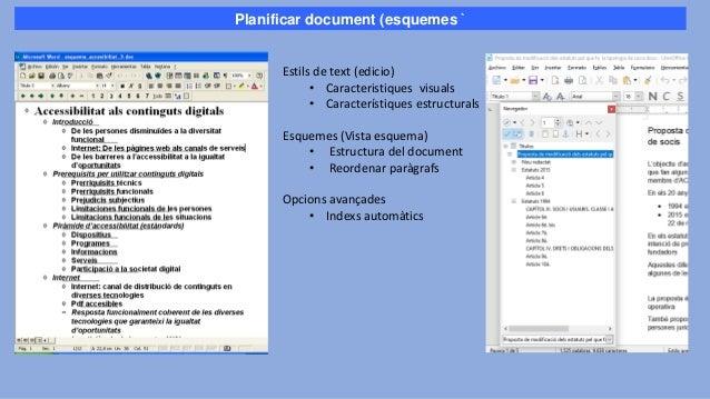 Estils de text • Estructuren la informació • Donen coherència gràfica • Faciliten la lectura Fulls d'estils: Defineixen el...