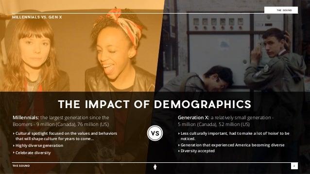Millennials vs. Gen-X Slide 2