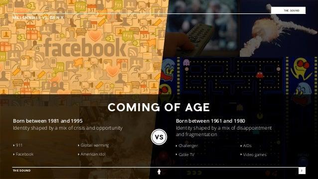 Millennials vs. Gen-X Slide 3