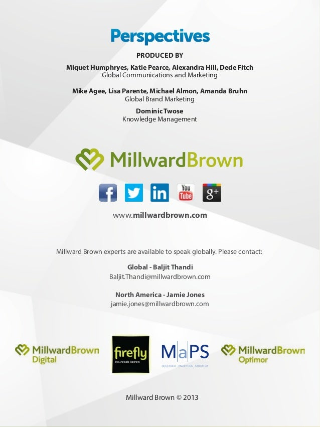 Millward Brown Perspectives Vol. 6, Issue 3