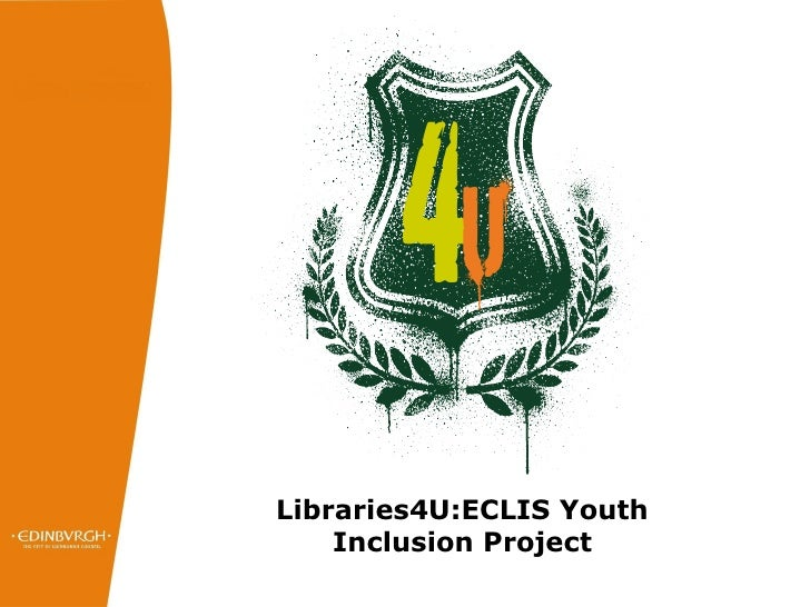Libraries4U:ECLIS Youth Inclusion Project