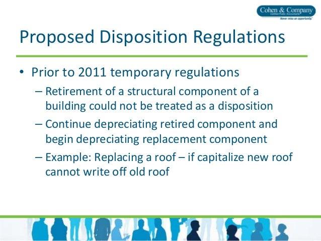 Tangible Property Capitalizationvregulations